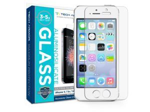 iPhone 5 Screen Protector, Tech Armor Apple iPhone 5C / 5S / 5 / SE Prime Screen Protector made with Accessory Glass 2 By Corning® (0.2mm)