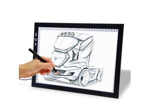 """19"""" LED Tracing light Board Artist Tattoo Drawing Drafting Graphics Tablet Table by Vetroo"""