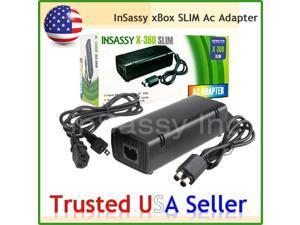 Slim AC Adapter 100-240V 2A 47-63Hz for XBOX 360 Slim