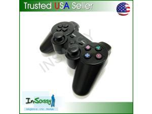 Wireless Bluetooth Dual Vibration Controller For Sony  PlayStation 3 BLACK