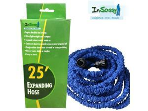 Blue Expandable Hose with Spray 25 Feet