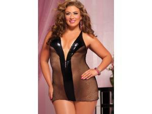 InSassy Fishnet Chemise