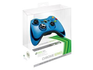 MICROSOFT XBOX 43G-00023 360 WIRELESS CONTROLLER BLUE