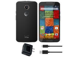 Motorola XT1096 Moto X 2nd Generation 16GB AT&T T-Mobile Verizon 4G LTE Unlocked Cell Phone (Black)