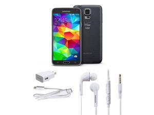 Refurbished: Samsung Galaxy S5 SM-G900V 16GB Unlocked Cell Phone (Black)