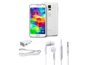 Samsung Galaxy S5 SM-G900V 16GB Unlocked Cell Phone (White)