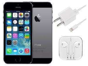 "Apple iPhone 5S 4"" Retina A1533 16GB GSM UNLOCKED Cell Phone - Space Gray"