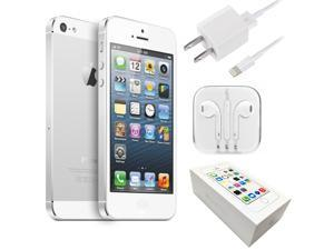 "Apple iPhone 5S 4"" Retina A1533 16GB GSM UNLOCKED Cell Phone - Silver"