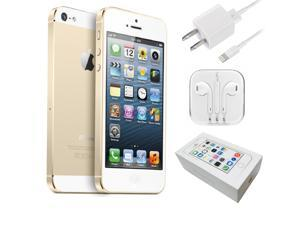 "Apple iPhone 5S 4"" Retina A1533 16GB GSM UNLOCKED Cell Phone - Gold"