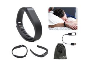 EEKit for Fitbit Flex Wristband,Replacement Wrist Band Clasp+USB Charging Cable