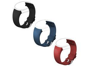 EEEKit Replacement for Samsung Gear S2 Classic SM R732 Version ONLY Smartwatch, 3 Packs Silicone Watch Band Bracelet Straps and Storage Pouch