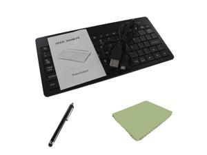 EEEKit for Kindle Fire HD 7 Google Nexus 7, Recharge Bluetooth Wireless Keyboard + Stylus + Screen Cleaning Cloth