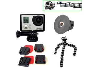 EEEKit 4in1 Music Video Kit for GoPro Hero HD 3+/3,Flexible Tripod+Mount Adapter