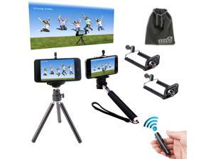 EEEKit for Phone Bluetooth Remote Shutter Control+Tr?ipod Mount+Handheld Monopod