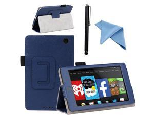 EEEKit for Amazon Fire HD 6 Smart Leather Case Stand Cover Sleep/Wake+Pouch