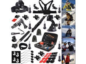 EEEKit Winter Sports Accessories Kit for Gopro Hero4 Black/Silver HD 3+ 3 2 1