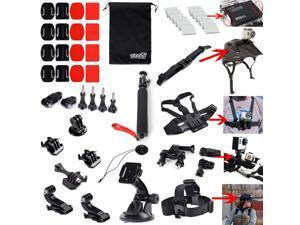 EEEKit Ultimate Combo Accessories Mount Kit for GoPro Hero 4 Black Silver HD 3+ 3