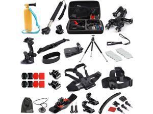 EEEKit 27in1 Outdoor Sports Bundle Kit for Gopro Hero 4/Black/Silver 4/3+/3/2/1