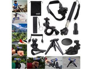 EEEKit Travel Kit for Ion Air Pro 2/3 Wi-Fi HD Helmet/Tripod/Car Sunction Mount