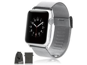 EEEKit for Apple Watch 38mm Replacement Mesh Stainless Steel Strap Wrist Band