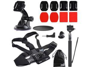 EEEKit for ASX ActionPro-X - 1080P Camera, Chest/Pole/Car Suction/Surface Mount