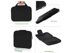 EEEKit Office Kit for Google ChomeBook Pixel 2015,Portable Carrying sleeve Bag+2.4G Wireless Mouse+USB 3.1 Type C to VGA Adapter Cable+VGA Cable