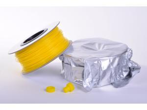 Zen Toolworks 3D Printer 1.75mm Yellow PLA Filament 1kg (2.2lbs) Spool