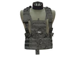 Condor Modular Chest Set Black New CS-002 MOLLE PALS