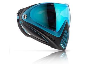 Dye i4 Paintball Goggle Mask - Powder Blue - New - Thermal Lens