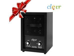 Commercial Clevr Ozone Generator Industrial O3 Air Purifier w/ 2 Plates