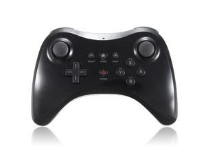 Black Dual Analog Game Wireless Controller Gamepad Joypad Joystick for Nintendo Wii U Pro