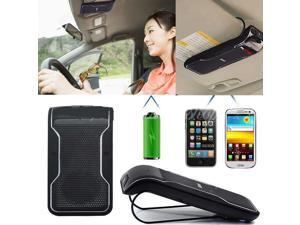 USB Wireless Handsfree Calls In-car Bluetooth Speakerphone Sunvisor Clip Kit
