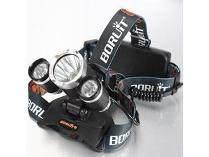 Rechargeable 5000Lm 3x CREE XM-L T6 LED 3 Mode Headlight