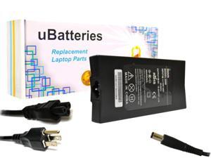 UBatteries Slim Power AC Adapter Charger Dell Inspiron 17R (7720) N2768 0N2768 ON2768 N560J 0N560J ON560J N566J 0N566J ON566J 330-4280 330-4281 - 65W, 19.5V