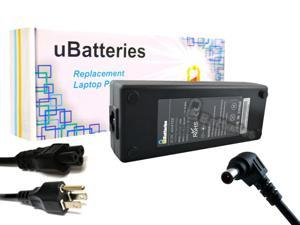 UBatteries AC Adapter Charger Sony VAIO VPCEE46FX/T - 120W, 19.5V