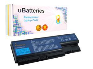 UBatteries Laptop Battery Acer Aspire 5520 5530 5535 5739G 5920 AS07B71 - 4400mAh, 8 Cell