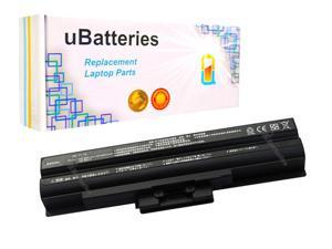 UBatteries Laptop Battery Sony VAIO VGN-NW VGP-BPS13 VGP-BPS13A/R - 5200mAh, 11.1V, Samsung 2.6A Cells - UBMax Series (Black)