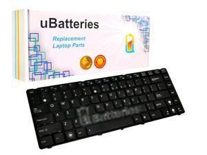 UBatteries Laptop Keyboard Asus X44 Series - (Black, KeyBoard With Frame)