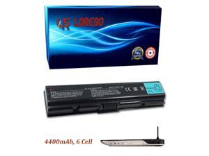 Laptop Battery Toshiba Satellite L305-S5917 L305-S5918 L305-S5919 L305-S5920 L305-S5921 L305-S5924 L305-S5926 (Loreso Replacement Part) - 4400mAh, 6 Cell