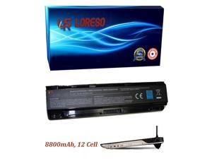 Laptop Battery Toshiba Satellite C850D-011 C850D-012 C850D-013 C850D-01J C850D-01K C850D-118 C850D-119 (Loreso Replacement Part) - 8800mAh, 12 Cell