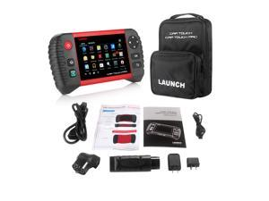 """Launch CRP Touch Pro 5.0"""" Android Touch Screen OBD2 Diagnostic Scanner for ABS, SRS, Transmission, Engine, Battery Registration, EPB, and Oil Service Light Reset with Free Benz and BMW Adapters"""