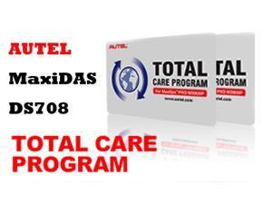 AUTEL MaxiDAS DS708 TOTAL CARE PROGRAM - 1YR 1 Year Software Update Service for MaxiDAS DS708