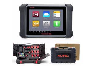 Autel MaxiSYS MS906 Automotive Diagnostic Scanner [Upgrade of MaxiDAS DS708] Android WiFi Touch Screen Tablet Type Car OBDII Tool with Read, Diagnose, Service, Repair Functions (MS906)
