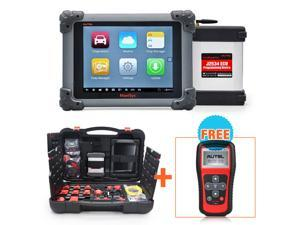 Autel MaxiSys Pro MS908P OBD Full System Diagnostic System with J2534 ECU Reprogramming Box/VCI Model + MaxiTPMS TS401 + Free Online Update