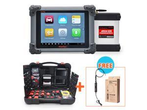 Autel MaxiSys Pro MS908P OBD Full System Diagnostic /ECU Coding Programming System + MaxiVideo MV108 8.5mm 5.5mm Digital Inspection Camera