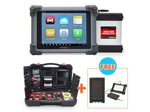 Autel MaxiSYS Pro MS908P Car Bluetooth/WIFI Diagnostic / ECU Programming Tool Coding Reprogramming with J2534 VCI box + Free Gift Basic Kit MaxiScope MP408 PC Based 4-Channel Automotive Oscilloscope