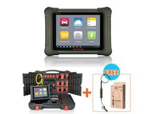 NEW Autel MaxiSYS Elite Automotive Diagnostic & ECU Online Programming System 2 years free online update with ECU reprogramming moudle interface + Autel MaxiVideo MV108 digital inspection camera 8.5mm