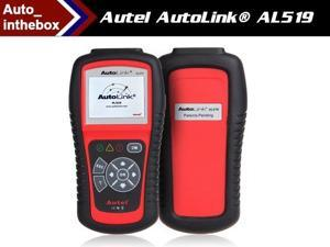 Autel AutoLink AL519 OBDII/EOBD Auto Code Scanner with 10 Modes Diagnosis TFT Color Display