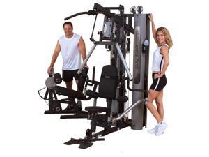 BodySolid G10B Bi-Angular Home Gym W/ GLP Leg Press   2-210 lb Weight Stacks NEW