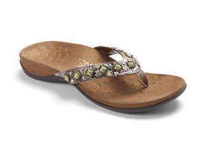Vionic Floriana Women's Thong Sandals Natural Snake